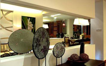 5-10万140平米三室三厅东南亚风格书房效果图