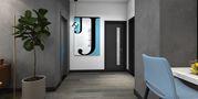 80平米一居室其他风格走廊装修图片大全