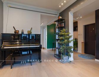 90平米四室两厅田园风格客厅图片