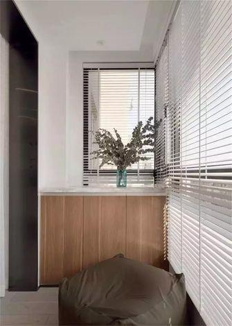 100平米现代简约风格阳台图