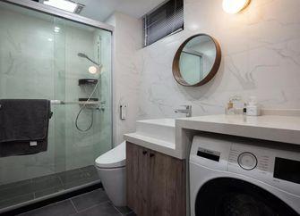 50平米一居室现代简约风格卫生间图片大全