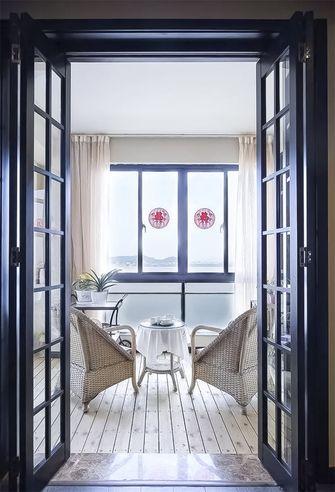 120平米公寓中式风格阳台装修案例