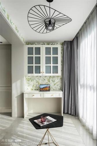 140平米三室两厅美式风格阳台设计图