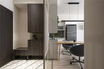 50平米一居室现代简约风格玄关图片大全