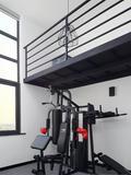 70平米混搭风格健身室装修图片大全