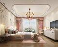 140平米四室四厅中式风格卧室效果图