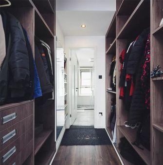 110平米三室两厅混搭风格衣帽间图片