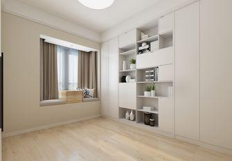 80平米三室两厅北欧风格书房图片