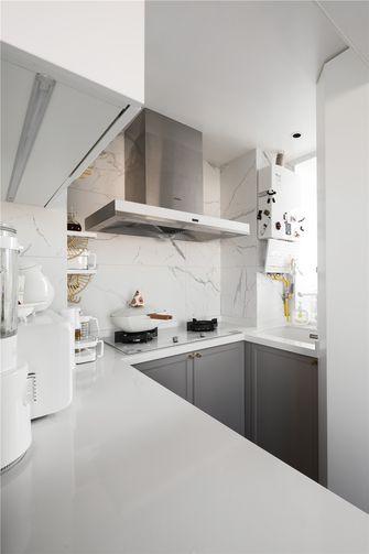 60平米一室一厅法式风格厨房图片大全