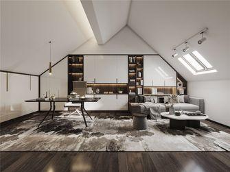 100平米三室两厅现代简约风格阁楼装修图片大全