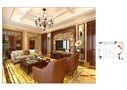 140平米别墅田园风格客厅图片