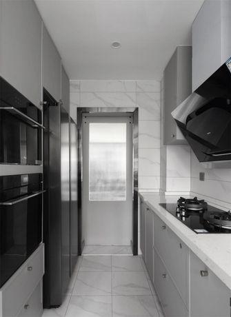140平米四室两厅现代简约风格厨房欣赏图