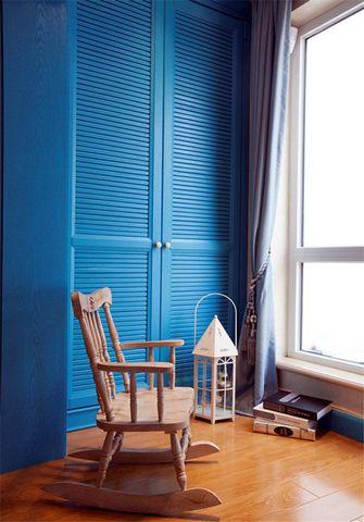 120平米三室两厅地中海风格阳台装修图片大全