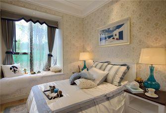 140平米三室三厅地中海风格卧室图片