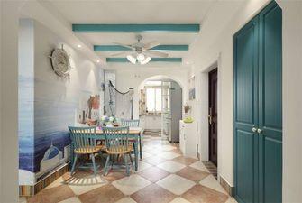 90平米三室一厅地中海风格餐厅图片