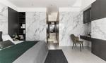 80平米三室三厅地中海风格卧室设计图