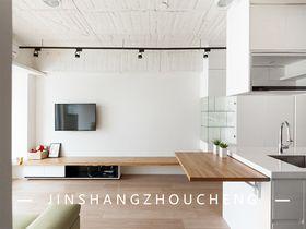 50平米公寓現代簡約風格客廳裝修圖片大全