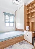 60平米三室一厅田园风格卧室装修图片大全
