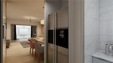 100平米三室两厅日式风格玄关图