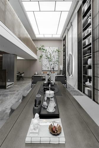 140平米四室两厅中式风格楼梯间欣赏图