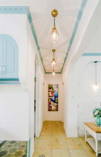 90平米三室一厅地中海风格走廊设计图