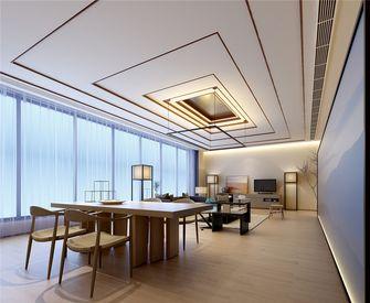 110平米一居室中式风格餐厅图片