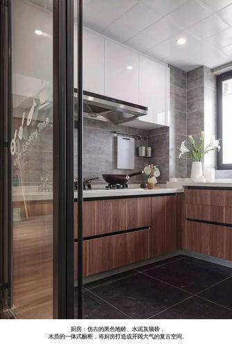 15-20万140平米四室三厅现代简约风格厨房图片大全