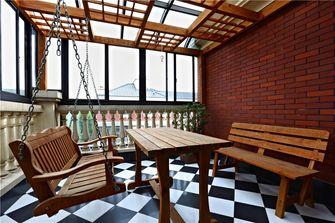 豪华型140平米别墅东南亚风格阳光房设计图