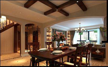 140平米别墅混搭风格餐厅装修案例