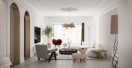130平米三室两厅法式风格客厅装修图片大全