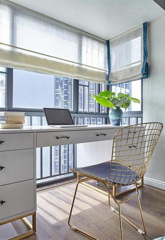 10-15万110平米三室两厅混搭风格书房效果图