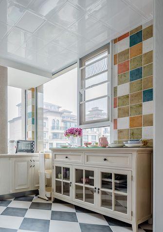 140平米四室三厅美式风格厨房装修案例
