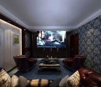 140平米别墅欧式风格影音室装修图片大全