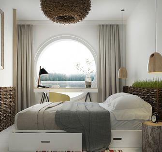 120平米三现代简约风格卧室效果图