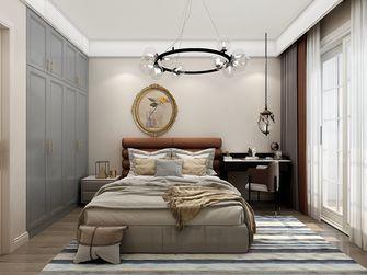 130平米三室两厅法式风格卧室图片大全