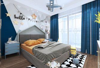 80平米欧式风格儿童房图片