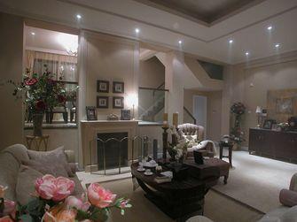 富裕型140平米复式欧式风格客厅图片