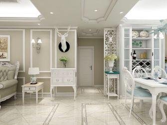 110平米三室一厅欧式风格客厅装修效果图
