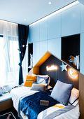 130平米三室两厅现代简约风格儿童房设计图