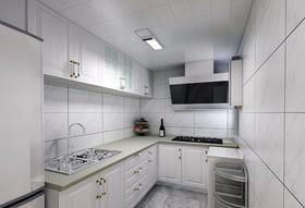 120平米四室兩廳現代簡約風格廚房裝修效果圖