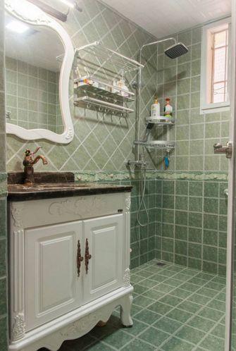 100平米三室两厅新古典风格卫生间设计图
