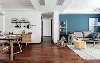 经济型110平米三室两厅北欧风格走廊图片大全