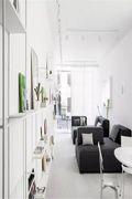 30平米以下超小户型现代简约风格客厅装修效果图