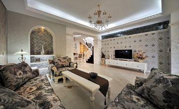 140平米四室两厅田园风格客厅装修案例