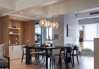 130平米四室三厅北欧风格餐厅设计图