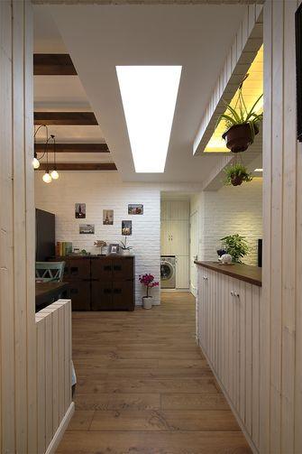 60平米一室两厅田园风格走廊欣赏图