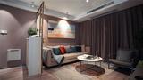 140平米三室三厅北欧风格客厅装修效果图