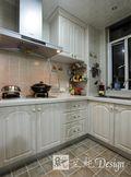 经济型140平米三室两厅欧式风格厨房橱柜图
