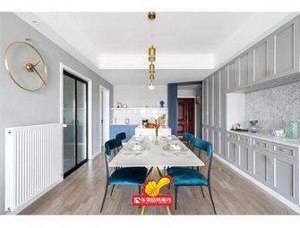 富裕型130平米四室两厅北欧风格餐厅图片