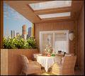 豪华型140平米别墅东南亚风格阳台效果图
